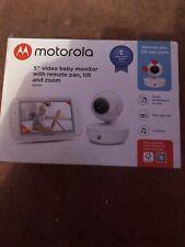 "Motorola Mbp50 5"" Video Baby Monitor NEW/SEALED. RRP £149.99"