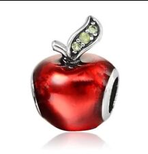 Disney Snow Whites Apple / Evil Queen European Chamilia Style Charm USA Seller