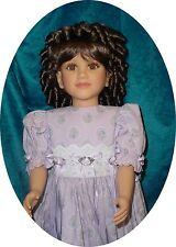 """Monique Doll Wig 14/15 fits My Twinn and others, Synthetic Fiber """" Charmaine """""""