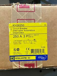 NEW KH36250 SQD Square D Circuit Breaker