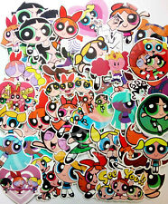 Powerpuff Girls - 50 Piece Sticker Set - UK Dispatch