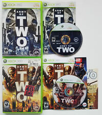 MICROSOFT XBOX 360 LIVE ARMY OF TWO & THE 40TH DAY RPG VIDEO GAME FREE SHIPPING