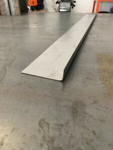 1mm sill repair patch. Ideal for car mot failures folded metal steel 20 x 120