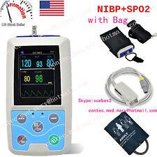 2017 Newest Portable Vital Sign Patient Monitor, NIBP+PR+SPO2, CONTEC USA Seller