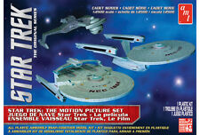 Star Trek Modellbausatz Motion Picture Set 1:2500, Enterprise, Reliant & Klingon