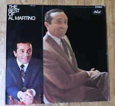 AL MARTINO The Best Of Al Martino LP