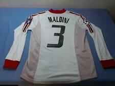 Milan Maglia Trasferta Fin Champions Manchester 2003 Away LS MALDINI 3 XL