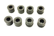 A SET OF 8 FRONT WISHBONE ARM BUSHES FOR THE MGA