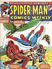 Spider-Man Comics Weekly #63, Fine Condition*