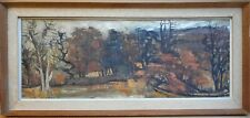 Autumn. Original Oil by listed Glasgow artist James Watt RGI, circa 1960