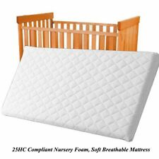 Waterproof Baby COT BED MATTRESS Breathable, Extra Thick 140 X 70 X 13CM