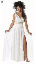 California Costume Sexy Athenian Goddess Greek Roman Women Halloween Adult Med
