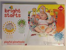 "Bright Starts ""Playful Pinwheels"" Baby Bouncer Seat - Brand New In Sealed Box!"