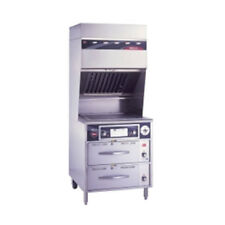 Wells Wvg-136Rw Ventless Electric Range with (2) Drawer Warmer Base