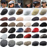 Mens Baker Boy Caps Unisex Country Style Gatsby Hat Newsboy Flat Cabbie Artist