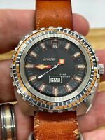 Enicar Sherpa Star Diver Vintage Automatic Diving 45 mm Ref.147.05.02 c.1969