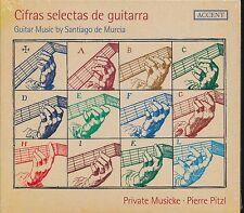 Santiago de Murcia Guitar Music Cifras Selectas de Guitarra Pierre Pitzl