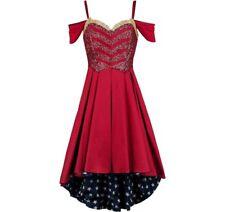 Stars Dress Wonder Women DC Ballgown Halloween Exclusive Cosplay Dress Size M
