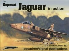Squadron Signal Sepecat Jaguar In Action Aircraft #197 by Glenn Ashley #1197 U1