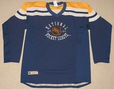 NHL National Hockey League Est. 1917 Long Sleeve Shirt Jersey Youth XL 20  Blue f85576b3c