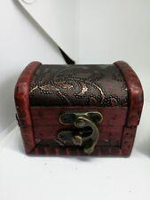 Kleine Holztruhe  Geschenkverpackung Kiste Dekoration Deko schatzkiste