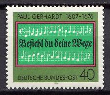 Germany - 1976 Paul Gerhardt Mi. 893 MNH