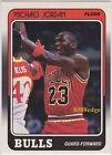 1988-89 FLEER NBA BASKETBALL BASE CARD: MICHAEL JORDAN #17 of 132 MINT-NRMT !