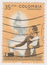 (COA-175) 1961 Colombia 35c Women's franchise (AD)