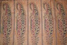 Vintage Orange Pure Tussar Silk Saree Traditional Embroidered Sari Wedding Wear