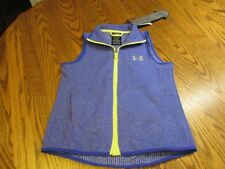 Under Armour Cold Gear INFRARED Vest MAG ZIPPER Youth Girls SIZE M NWT $64.99