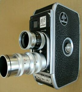 Paillard - Bolex B8 Standard 8mm Movie Camera