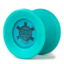 Replay Pro Aqua Teal World Contest Yo Yo YOYOFactory+3 Free Neon String YE/OR/GR