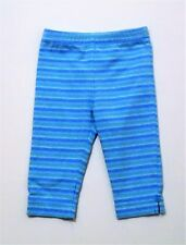 Mulberribush Blue Green Striped Leggings Pants, 3T
