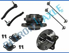 New 8pc Front Complete Wheel Hub & Bearing Suspension Kit for Volvo V70 S80 S60