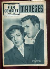 FILM COMPLET N°214. SIMONE SIGNORET. FRANCK VILLARD: MANEGES 1950.