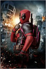 Deadpool Marvel Super Hero Movie Poster Art Print 91x61 cm