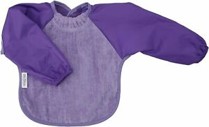 Silly Billyz Waterproof Cotton Velour & Nylon Long Sleeve Toweling Bib - 360528