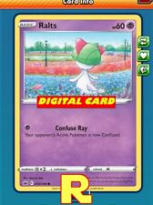 4x Ralts (Confuse Ray) - Pokemon TCG Online (DIGITAL ptcgo in Game Card)