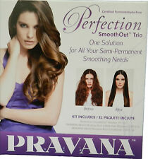 PRAVANA PERFECTION SMOOTHOUT TRIO - SHAMPOO, CONDITIONER & SMOOTH OUT SOLUTION