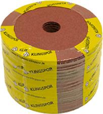 25 Fiberschleifscheibe 180mm CS561 Korn 16-120 Klingspor Fiberscheiben Holz-Meta