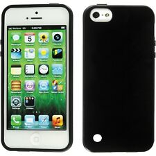 Tuff-Luv iPod Touch 5G 5th Generation Silicone Gel Case & Screen Protector Black