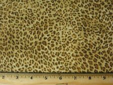 Animal Skin Fabric Printed yd 36x44 Upick leopard zebra giraffe lion Tiger cow