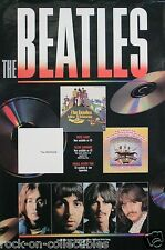The Beatles 1989 Capitol Records CDs Var. 2 Original Promo Poster