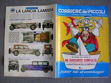 CORRIERE DEI PICCOLI n. 28 - 14/07/1968 - ANNO LX - QUASI OTTIMO