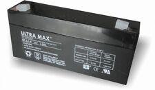 Ultramax np3.2-6, 6v 3.2 Ah batería de plomo mismo como Yuasa np2.8-6, 6v 2,8 Ah