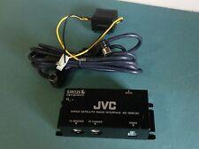 JVC KS-SRA100 interface Sirius Satellite Radio Adapter USE WITH YOUR SCC1