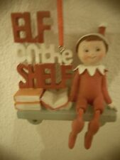 The Elf On The Shelf Boy Holiday Ornament By Roman Inc 2011