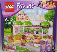 LEGO Friends 41035 Heartlake Saft- Smoothiebar mit Andrea und Naya NEU