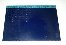 Microfich Ersatzteilkatalog Vespa Super bravo 2- Gang