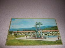 1960s POOL DIVING TOWER at BATHING RESORT of SOCIAL SECURITY OAXTEPEC POSTCARD